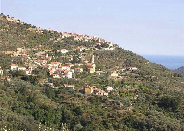 Blick auf Chiusanico