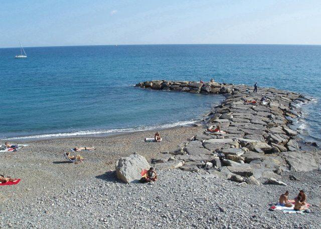 Strand von Imperia